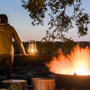 Singita Boulders Lodge Accommodation Activities Boma
