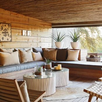 Londolozi Founders Camp Accommodation Living Room